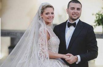 صورة زفاف ابن المصمم العالمي ايلي صعب.. ثلاثة بواحد